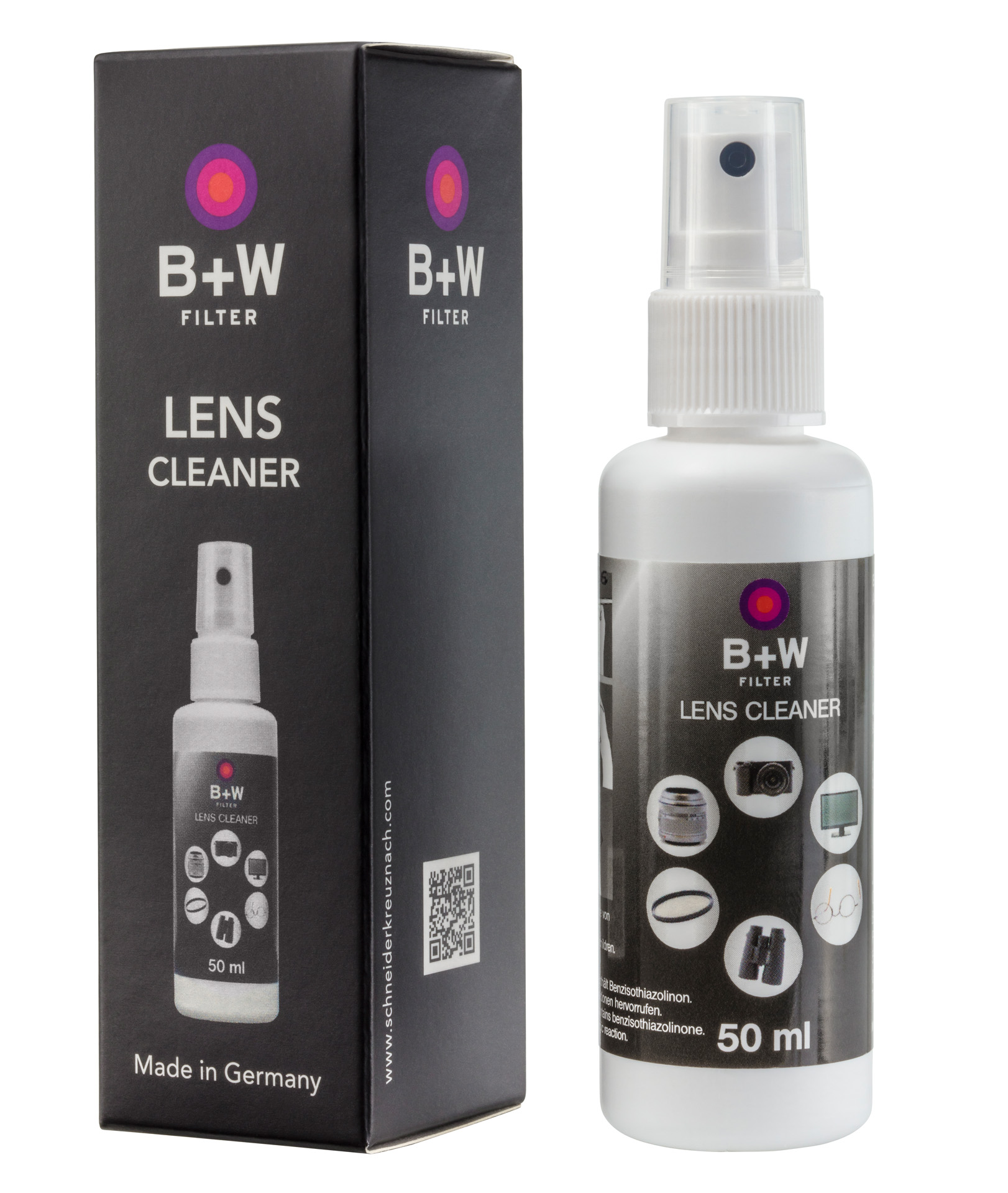 B+W Lens Cleaner sprej 50ml
